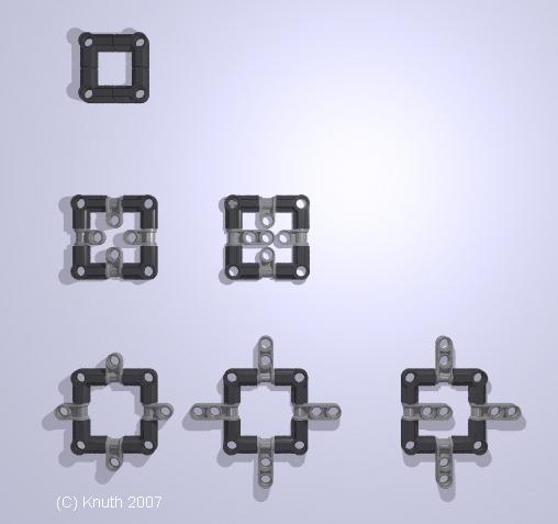 Square Meta-Parts