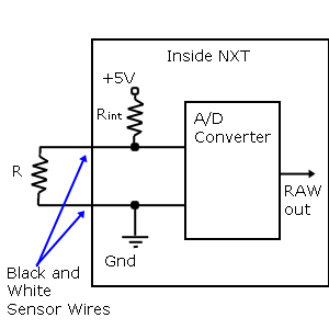 NXT A/D Converter Schematic