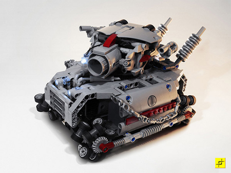 LEGO Tank with LEGO Omni-Directional Wheels