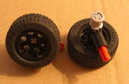 Omni-Directional LEGO Wheels by Xander Soldaat at Bot Bench