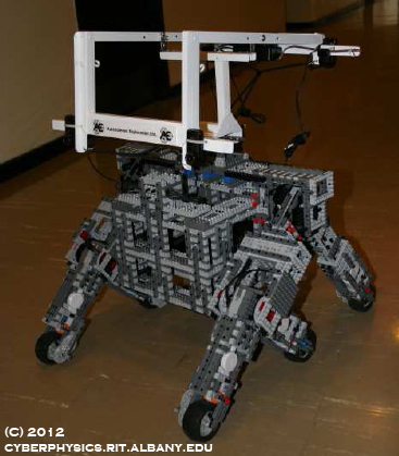 Image of KnuthLab LEGO Exploration Rover