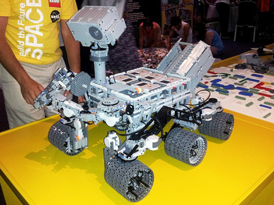LEGO Mars Curiosity Rover