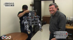 KnuthLab Exploration Rover Featured on NHK WorldNet